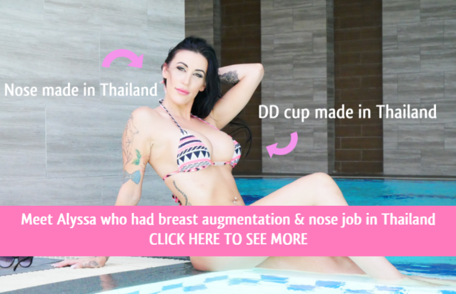 breast augmentation and nose job in thailand