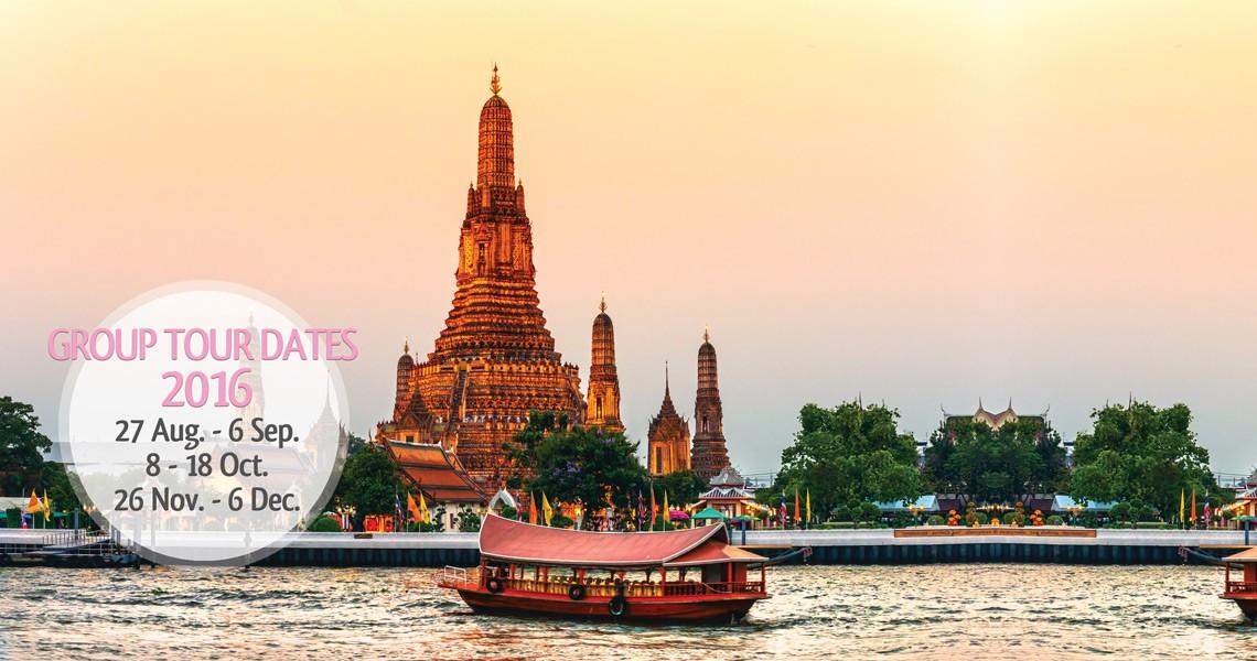 Bangkok Group Tours Package 2016