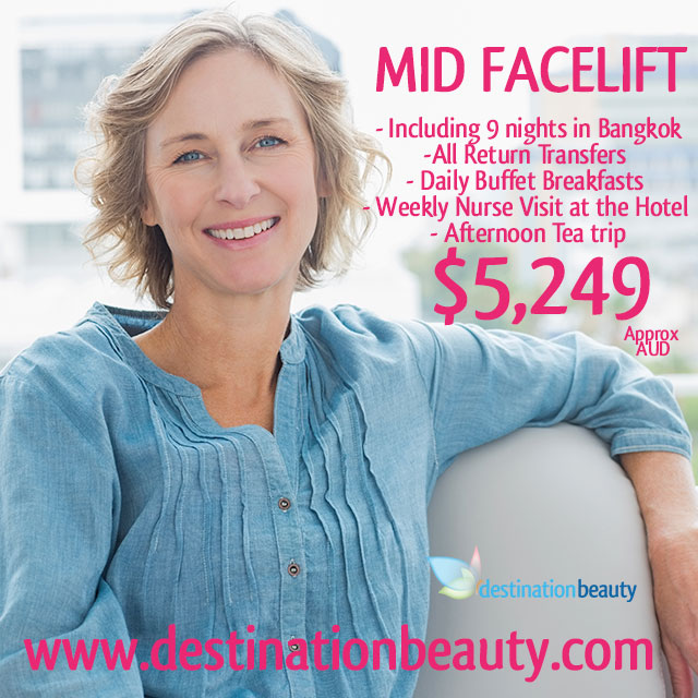 mid facelift package thailand