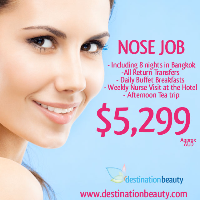nose job package thailand
