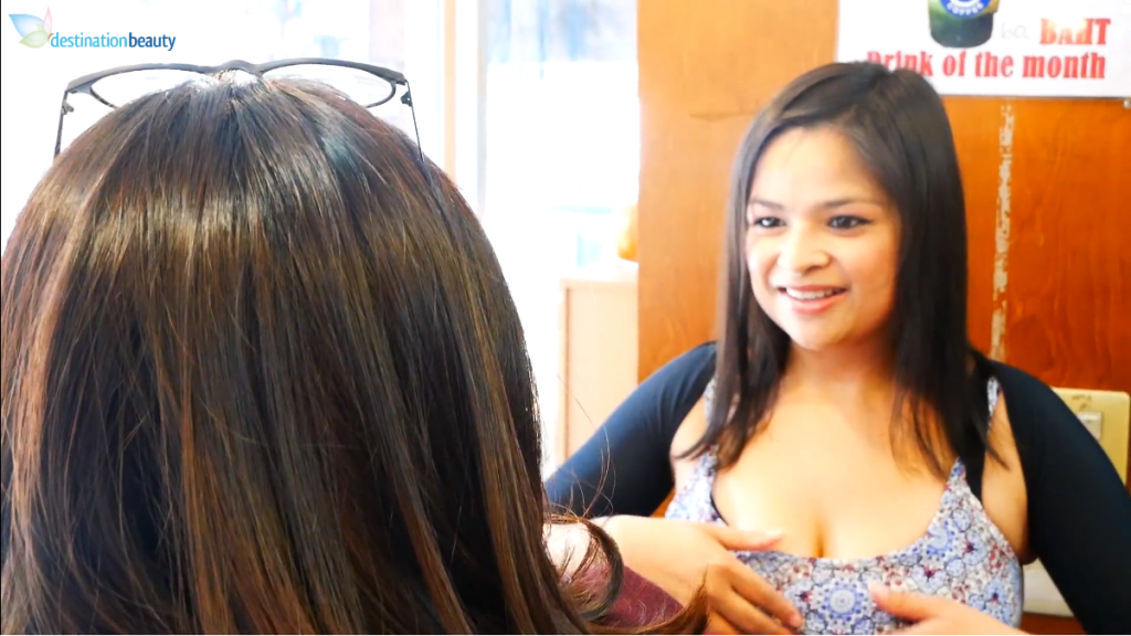 Aisyah shared with us about her breast augmentation with lift, arm lift, and thigh lift in Bangkok