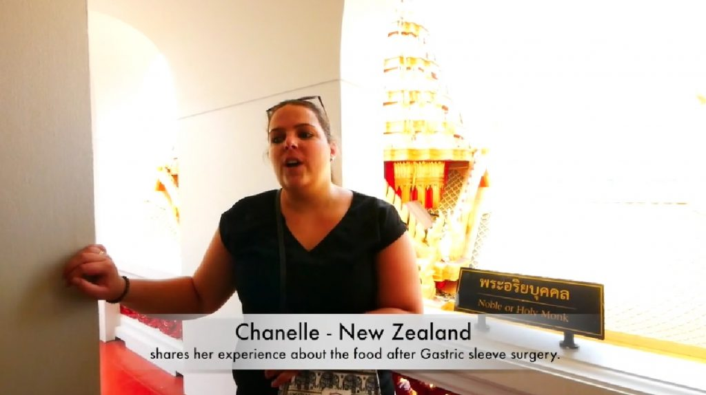 Chanelle shares her gastric sleeve surgery in Bangkok experience and food after the surgery!