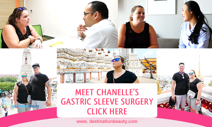Chanelle's weight loss surgery in Bangkok with Dr. Narong - lost 10 kgs in 9 days