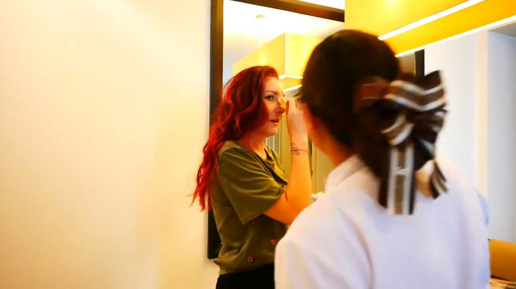 Gemma's nose job in Bangkok