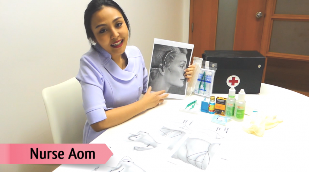 How to clean the wound by yourself by nurse Aom
