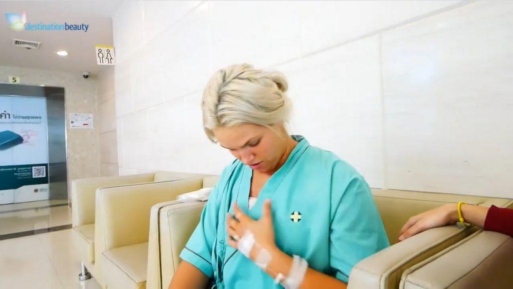 Shae's breast augmentation in Bangkok