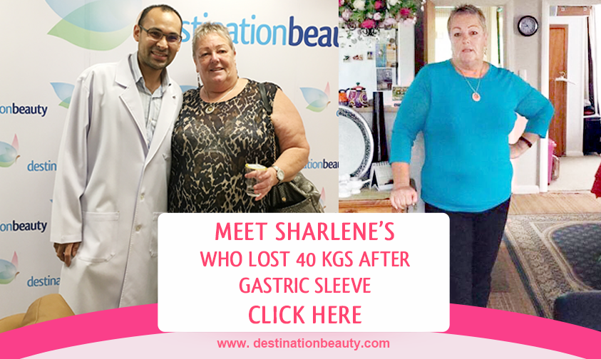 Sharlene 40 kgs weight loss after gastric sleeve in Bangkok